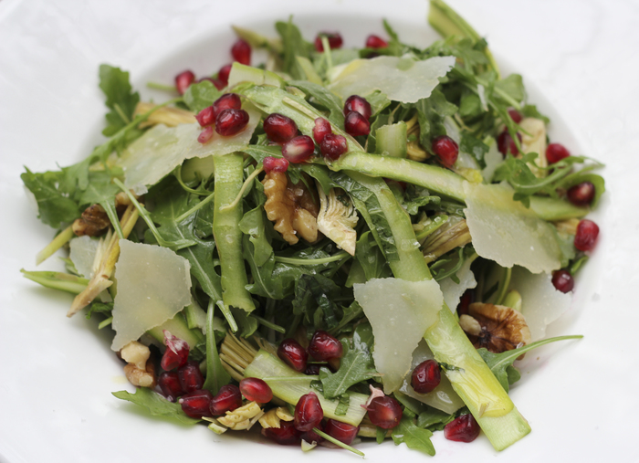 Asparagus Pecorino Salad Recipe — Dishmaps